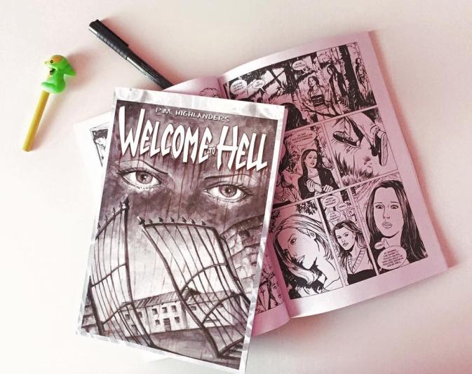 WelcomeToHell_PMHighlanders fumetto comic book